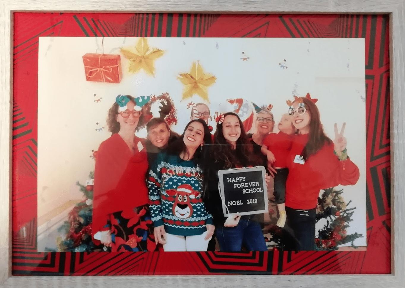 L'équipe pédagogique de l'école bilingue Happy Forever School à Nîmes
